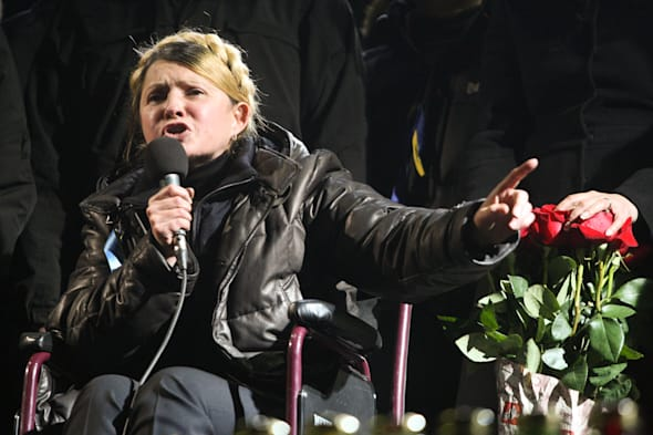Former Prime Minister Yulia Tymoshenko takes power in Ukraine