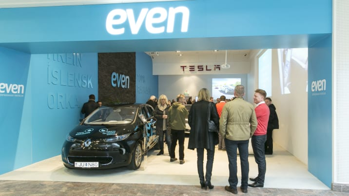 EVEN Electric store in Iceland