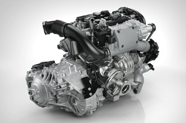 Volvo Drive E Engine