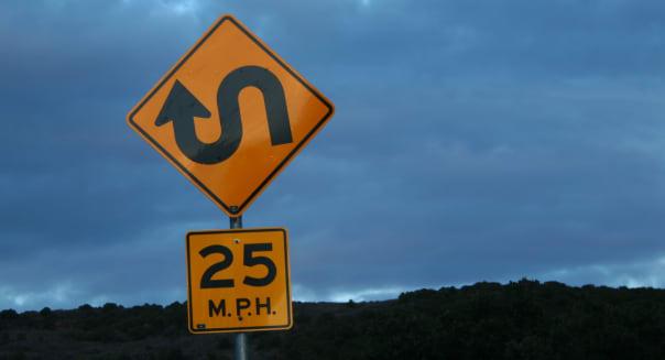 unique road sign