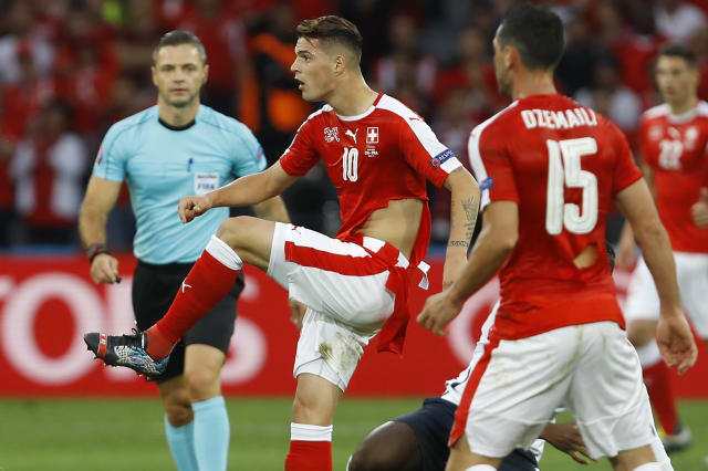 Soccer Euro 2016 Switzerland France