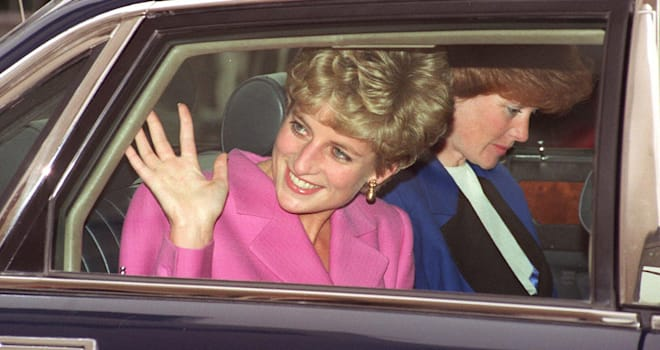 Picture dated 14 November 1992 of Diana, Princess