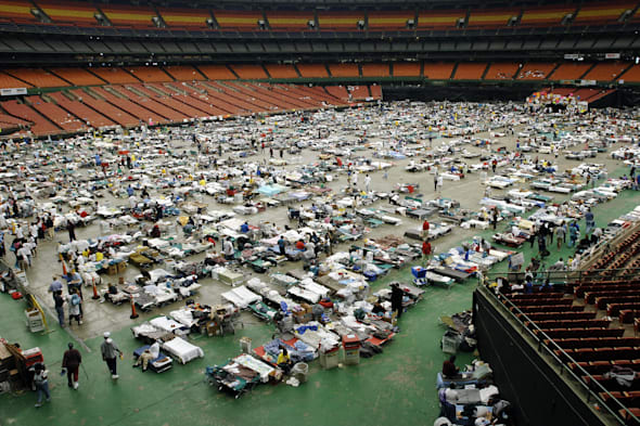 Hurricane Katrina evacuees, 06 September