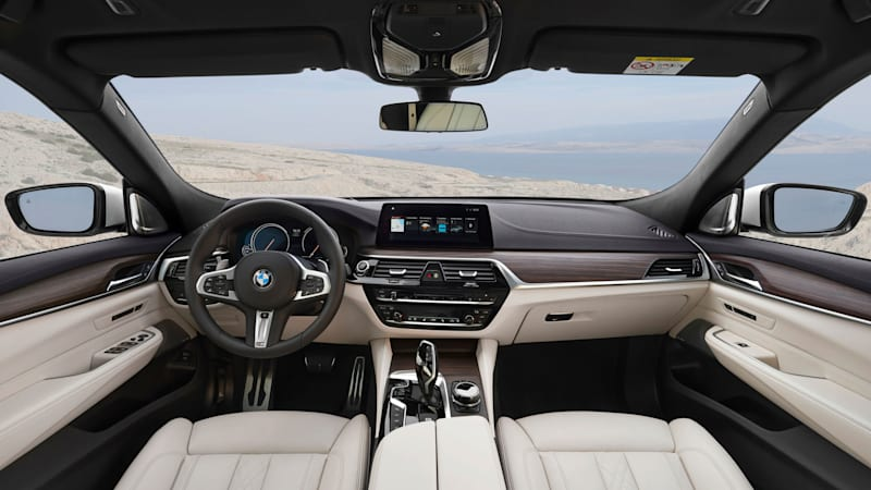 2018 BMW 6 Series Gran Turismo interior