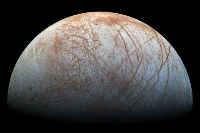 Dark material on Jupiter's moon may be sea salt