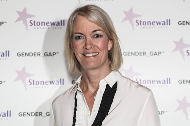 Margot James MP attends the 2013 Stonewall Awards ceremony held at the Victoria and Albert Museum in London