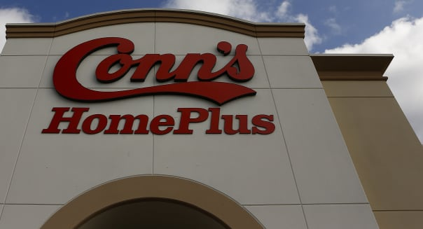 Inside a Conn's Appliance and Electronic Store Ahead Of Earns