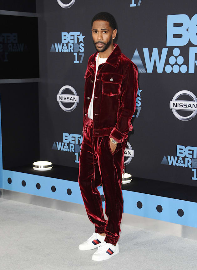 Rapper Big Sean attends the 2017 BET Awards at Microsoft Theater on June 25, 2017 in Los Angeles, California....