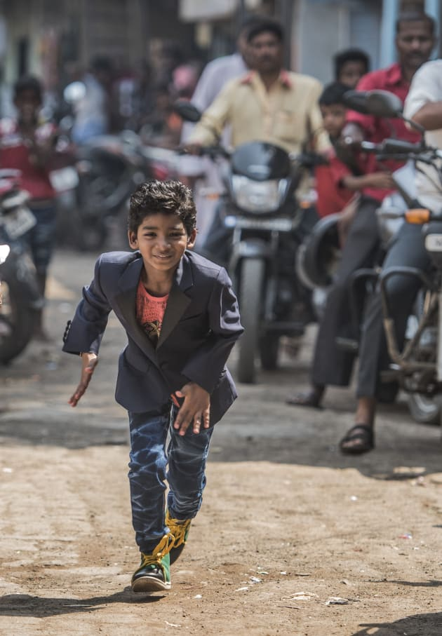 Child actor Sunny Pawar has been heralded for playing a young