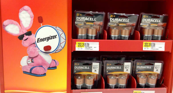 Energizer Bunny, 9/2014,  by Mike Mozart of TheToyChannel and JeepersMedia on YouTube #energizer #Bunny