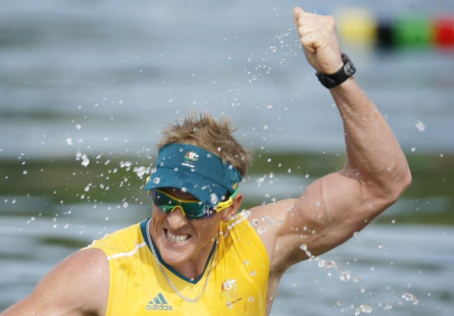Wallace won individual kayaking gold in