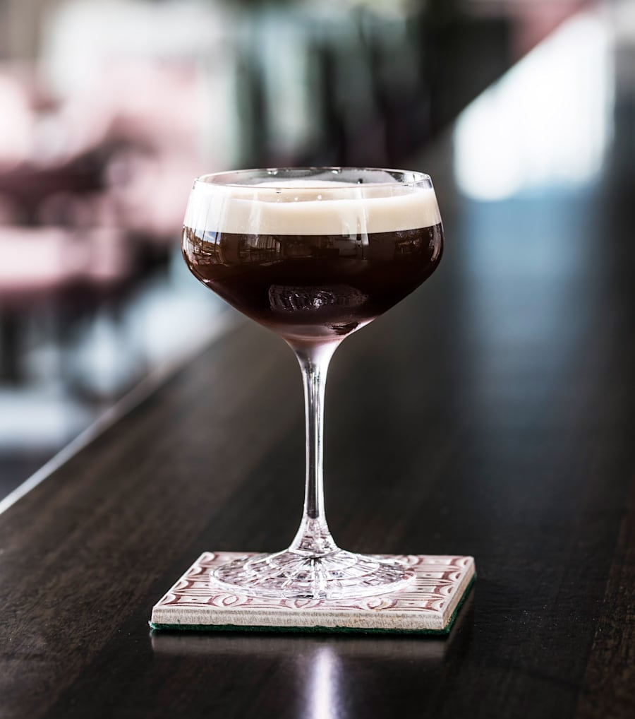 If you love coconut and anything salted, this espresso martini is for