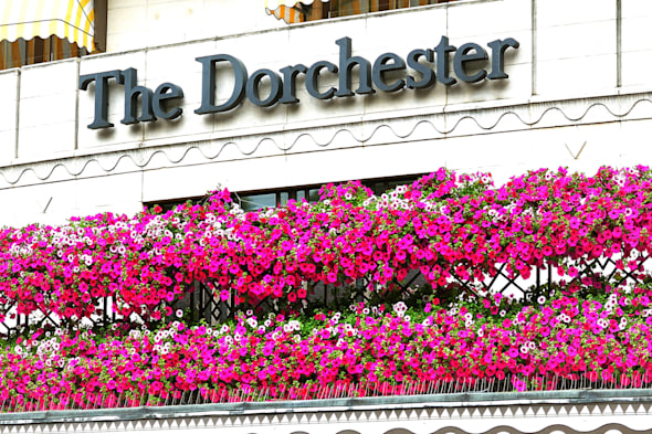 Dorchester Hotel London targeted by smash-and-grab raiders again
