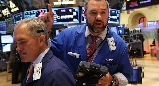Volatile Day Of Trading Leaves Dow Closing 180 Points Down