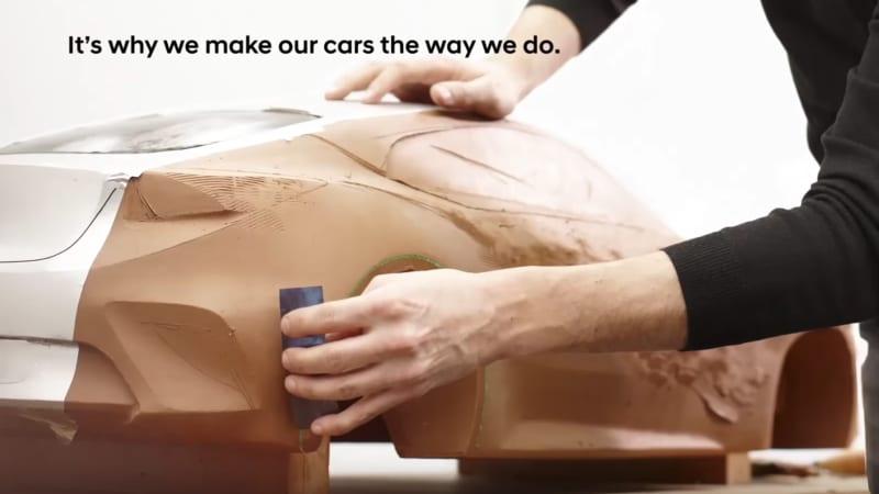 Mystery Hyundai clay model