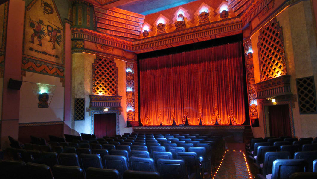 DENVER, COLORADO, MAY 9, 2006--A photo of the Mayan Theater to illustrate Denver's changing indie theater field. Although Landma