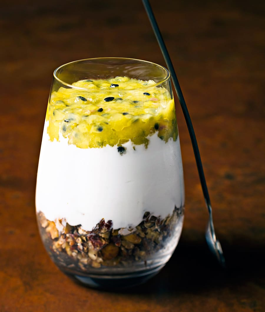 This dairy free dessert is fresh, fruity and incredibly easy to