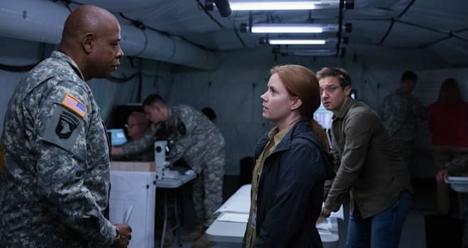 Alien encounter raises big questions in Arrival