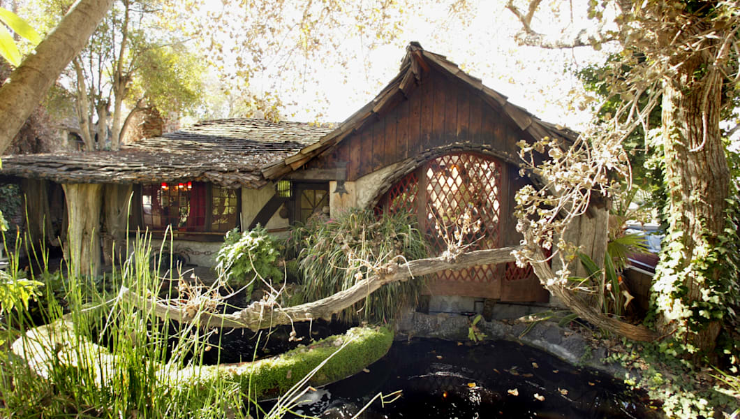 Feature on the Hobbit House. Lawrence Joseph designed and built a story book home and apartments tha