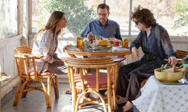 AUGUST OSAGE COUNTY  2013 Weinstein Company film with from l: Julia Roberts, Ewan McGregor, Meryl Streep