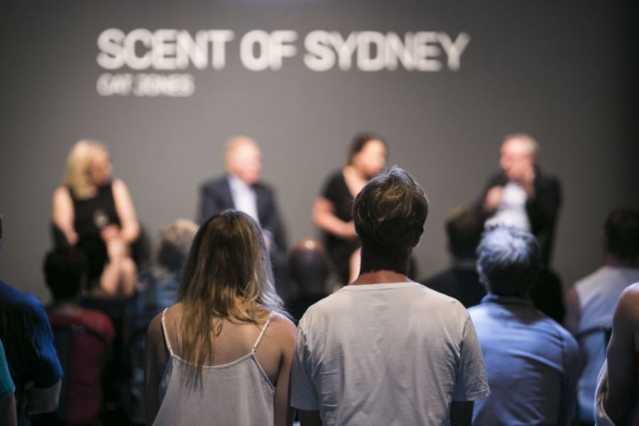 The work has inspired public conversations around what makes up Sydney's
