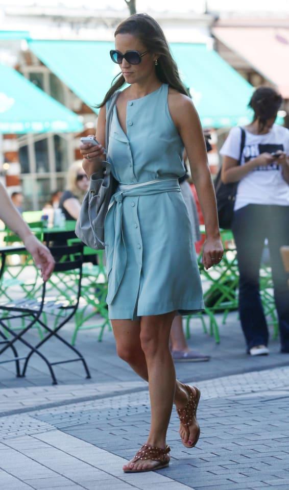 Celebrity Sightings In London - September 4, 2013