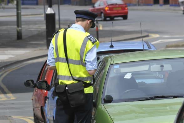 Work - Traffic Warden