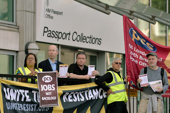 Passport workers set to strike