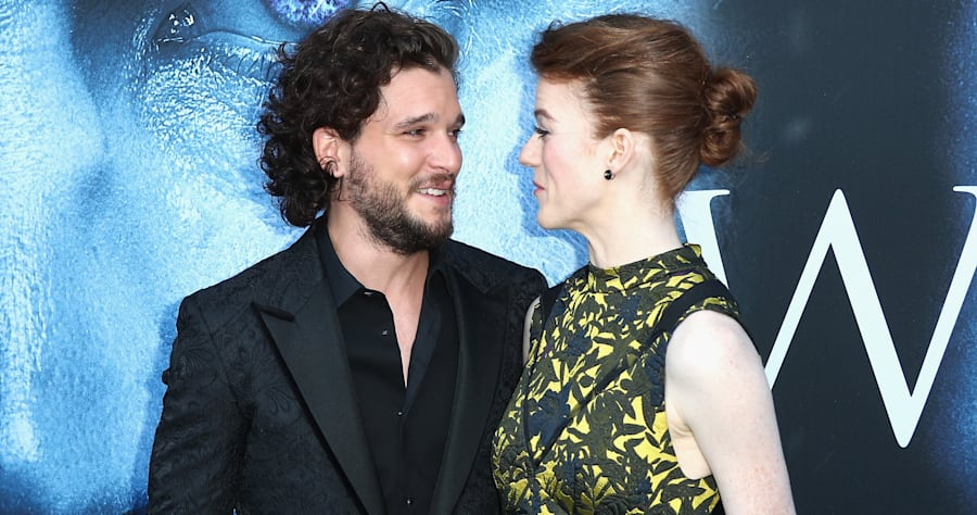 Sorry, But Kit Harington & Rose Leslie Are 'Not Engaged' (Yet)