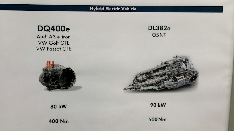 vw group electric motors poster