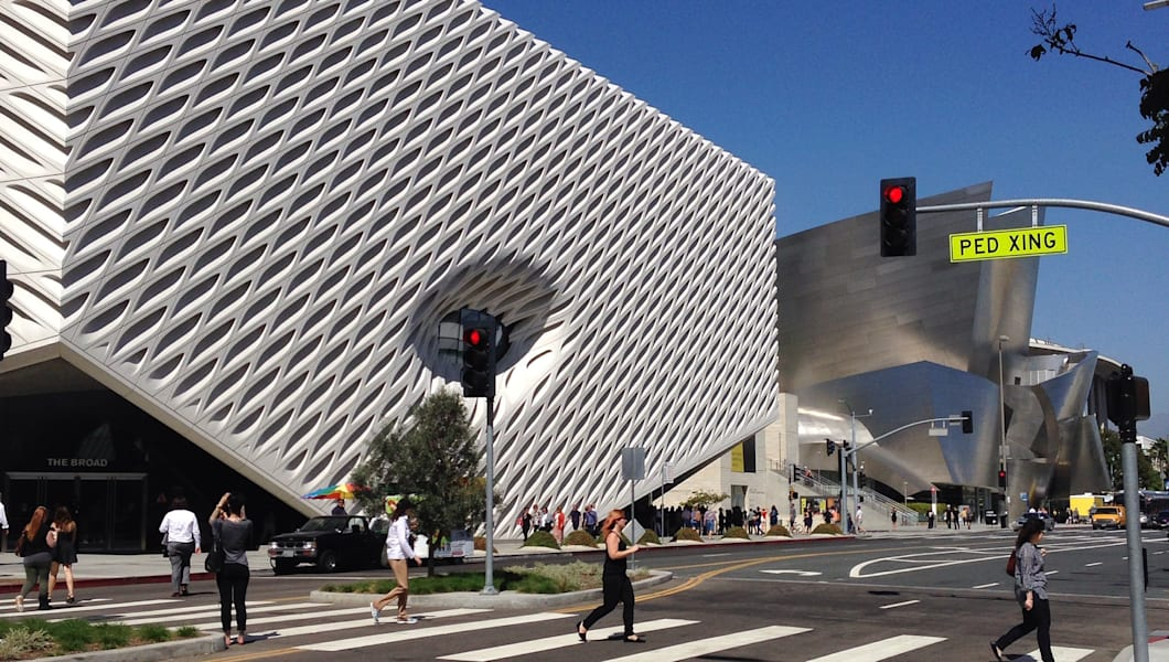 The Broad and Walt Disney Hall