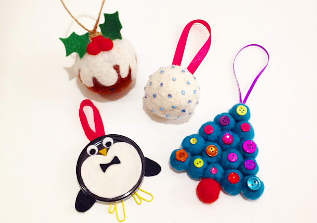 homemade christmas decorations 10 easy to make ornaments