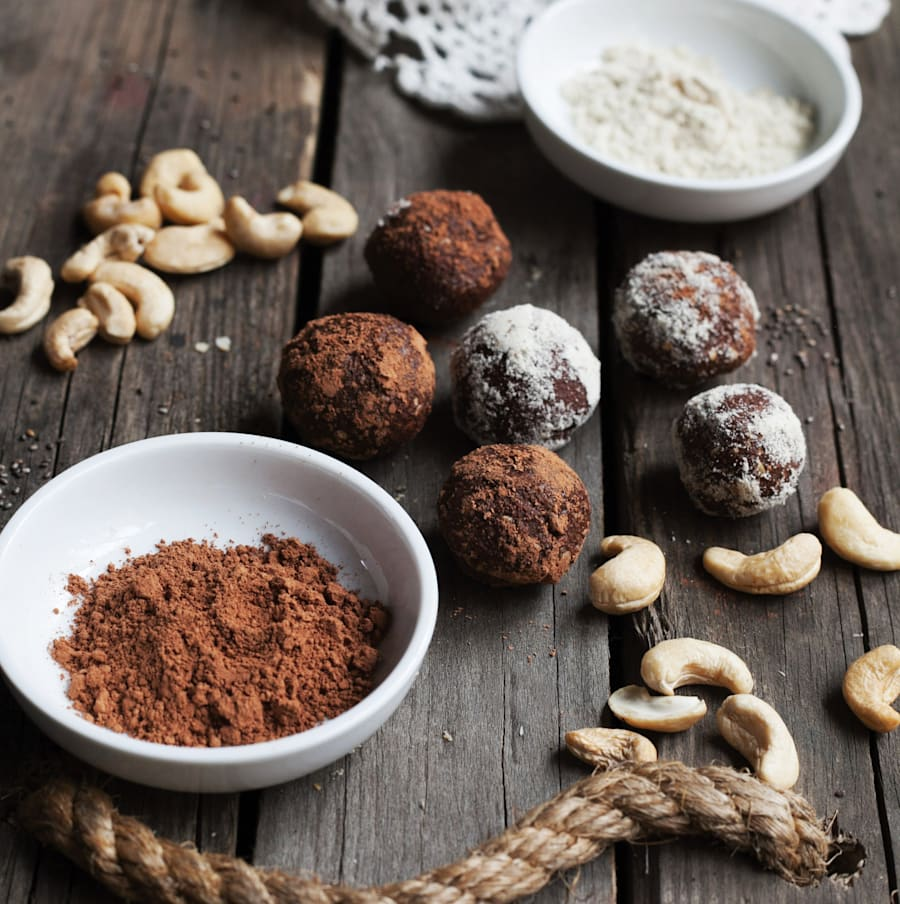 Try these scrumptious bites in place of regular truffles or rum