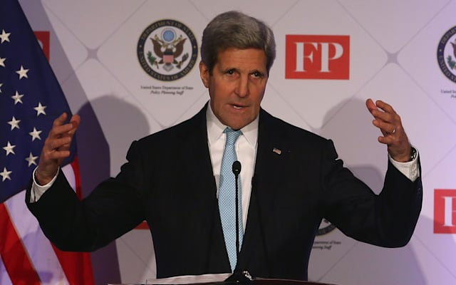 John Kerry Addresses Transformational Trends Policy Forum