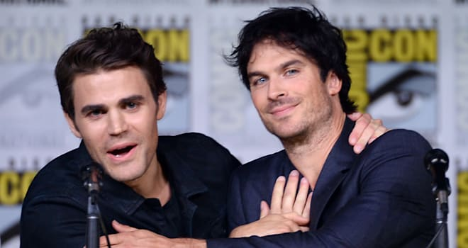 'The Vampire Diaries': Ian Somerhalder, Paul Wesley Talk ...