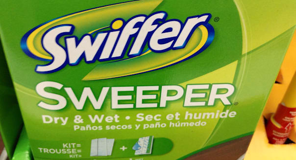 Swiffer, 9/2014 Walmart, by Mike Mozart of TheToyChannel and JeepersMedia on YouTube #Swiffer