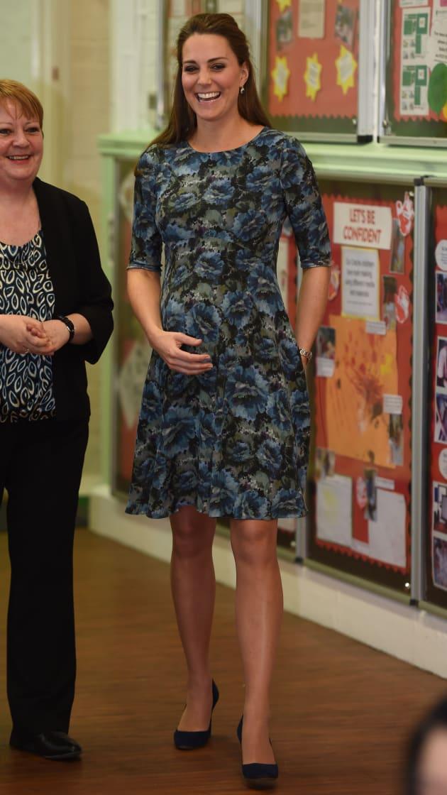 The Duchess Of Cambridge Visits Action For Children's Cape Hill Children's Centre