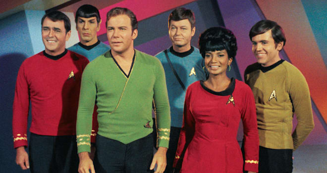 STAR TREK (1966) original television series cast