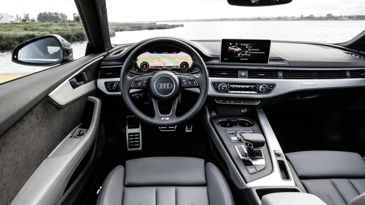 2017 Audi A5 interior