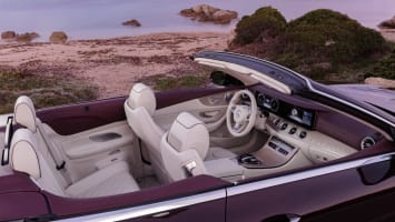 2018 Mercedes-Benz E-Class Cabriolet (European model shown)