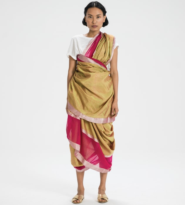 There Are Over A Hundred Ways To Drape Saris, But This One