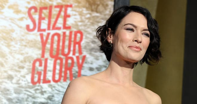 Lena Headey Interview 300 Black