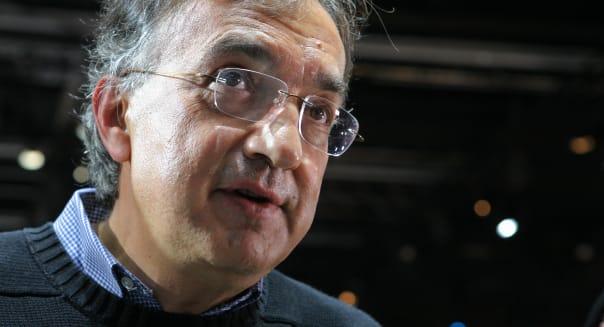 Fiat CEO Sergio Marchionne Frankfurt Motor Show 2011
