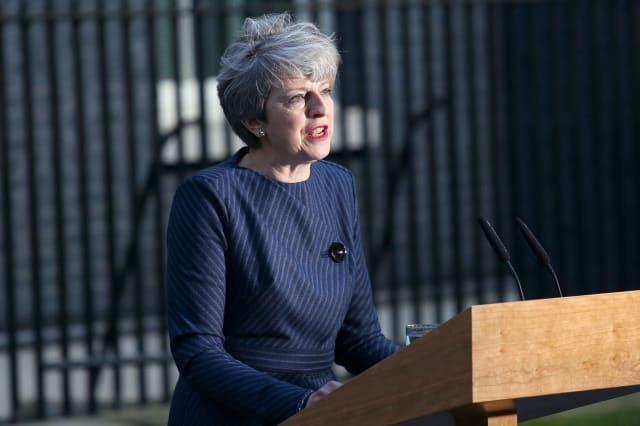 Theresa May statement