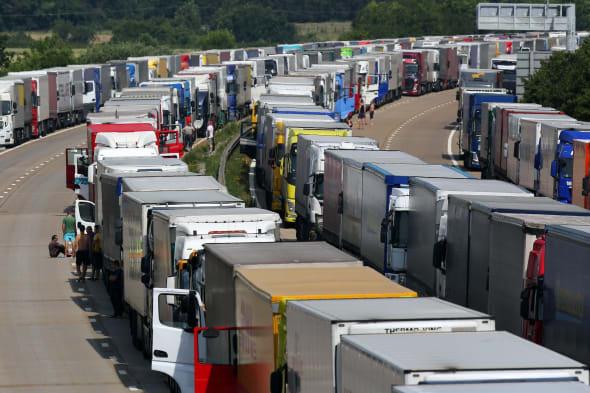 Calais industrial action