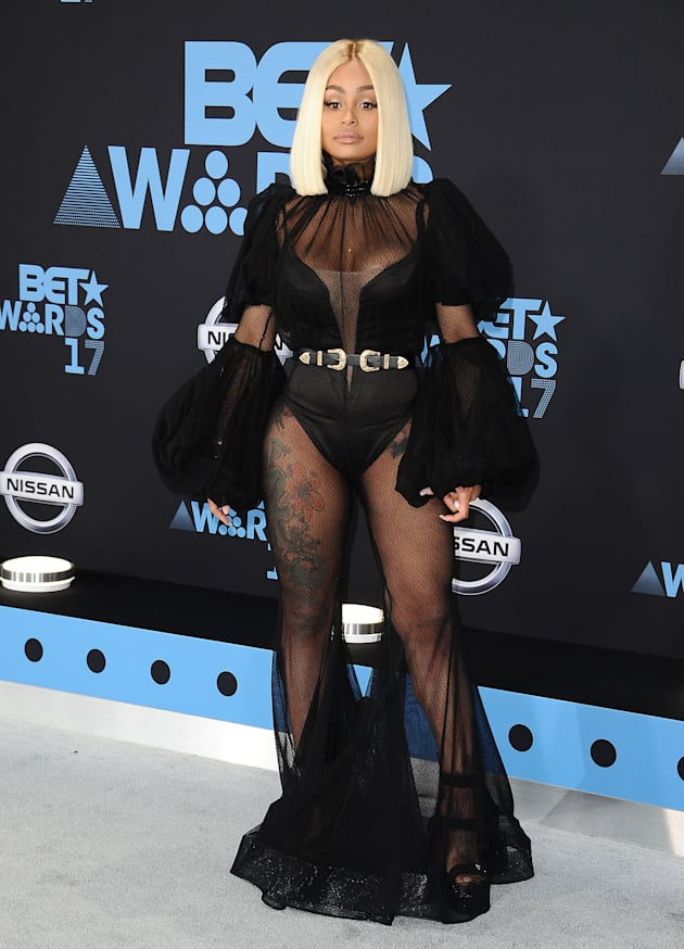Blac Chyna attends the 2017 BET Awards at Microsoft Theater on June 25, 2017 in Los Angeles, California....