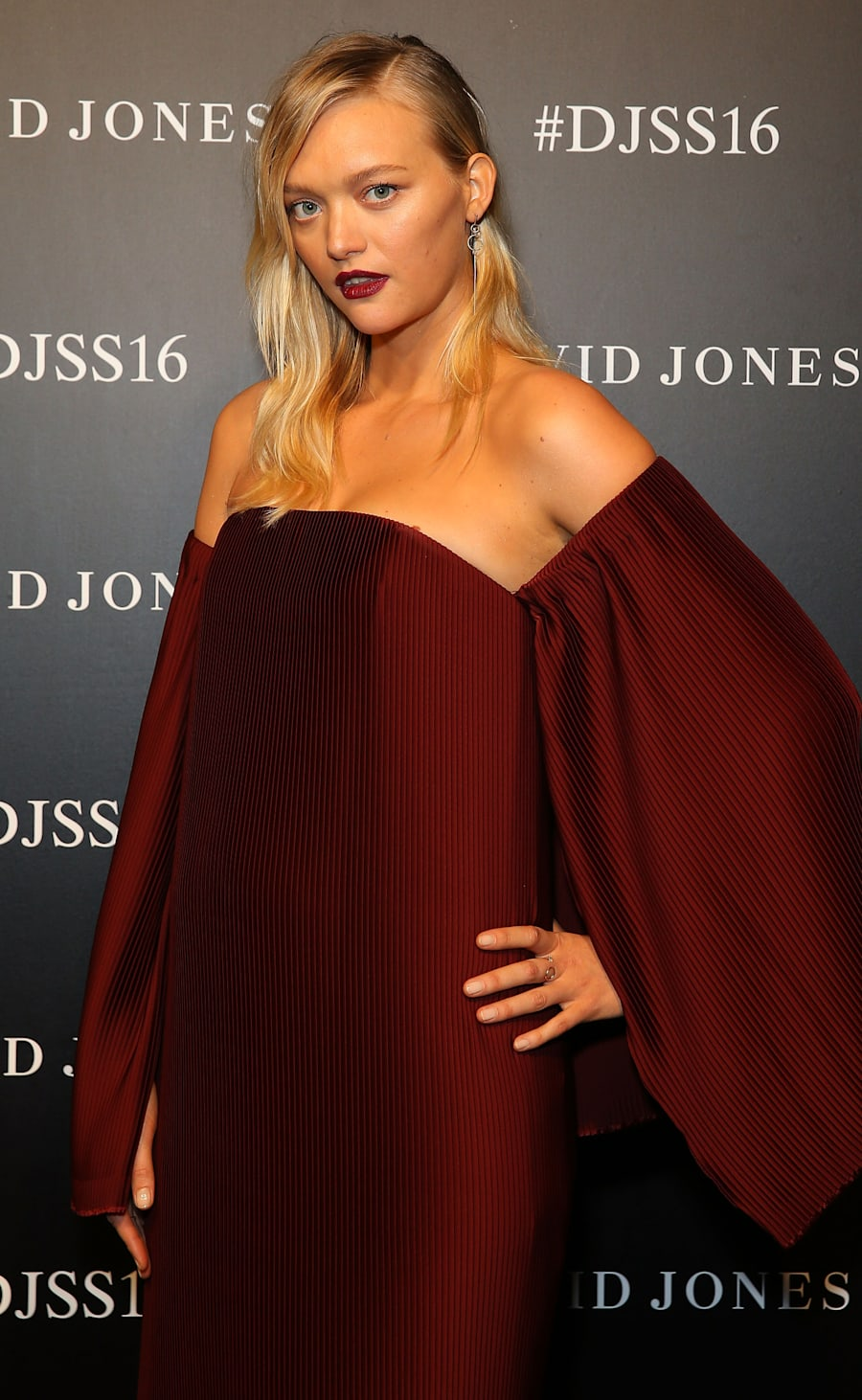 Gemma Ward on the red carpet prior to the