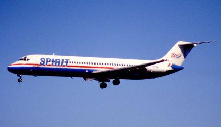 11ef - Spirit Airlines DC-9-41; N131NK@FLL;30.01.1998