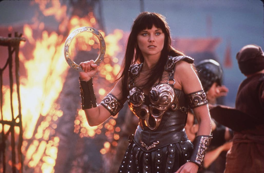 Lucy Lawless Stars In The Show Xena