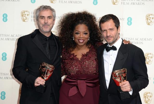 BAFTA Film Awards 2014 - Press Room - London